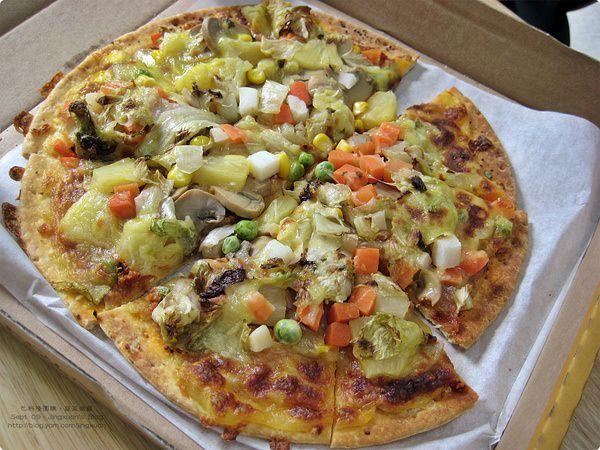 [食誌]台北市.團購.巴科隆蔬菜披薩和焗烤什錦蔬菜 Bakoln Gourment