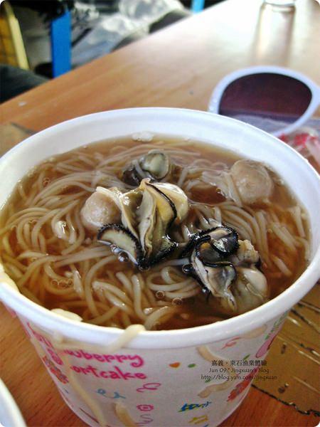 [食誌]嘉義東石觀光扁舟.蚵仔麵線 Oyster Noodle