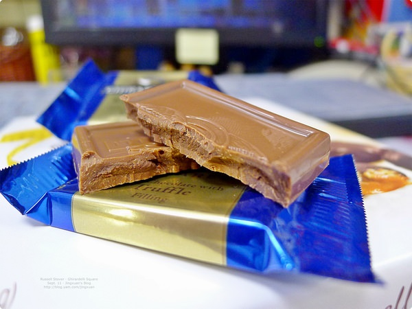 [食誌]伴手禮.Dark Chocolate Pegan Delights(Russell Stover).Ghirardelli Square(Ghirardelli), United States