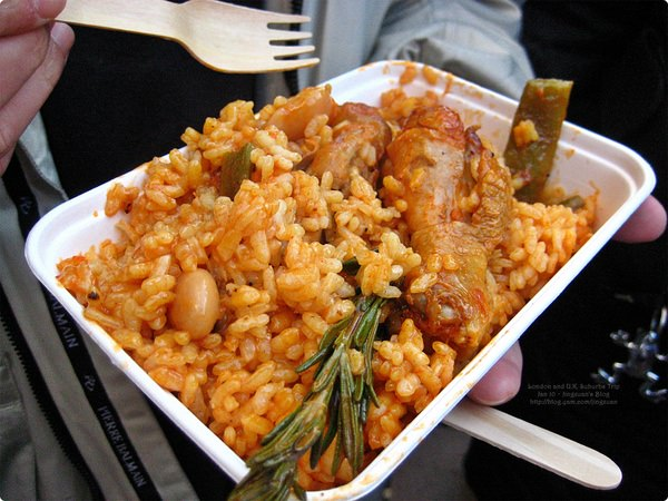 [英國食誌]London︰Paella Lunch, Portobello Market