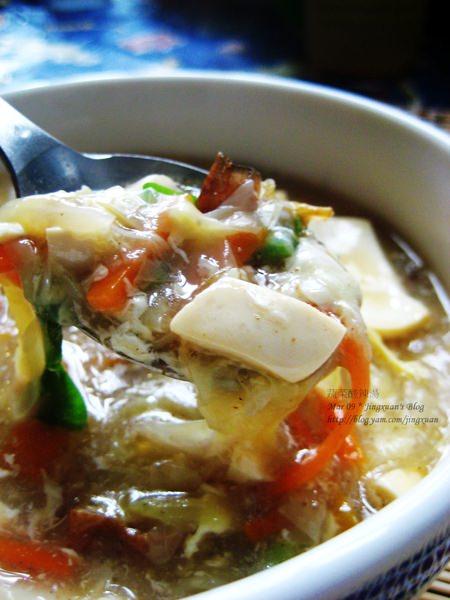 [下廚]蔬菜酸辣羹湯.Hot & Sour Vegetable Soup