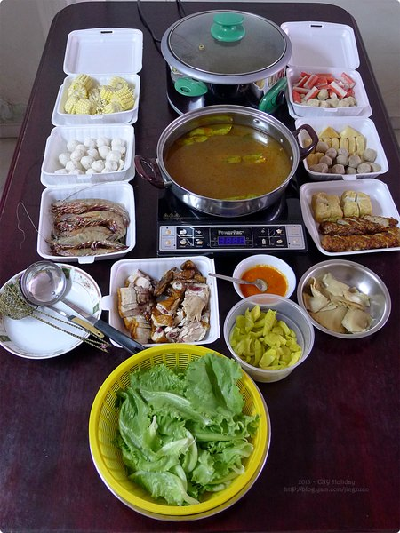 [馬新食誌]J.B., M'sia:2013 團圓飯.Family Reunion Meal prepared by Mum
