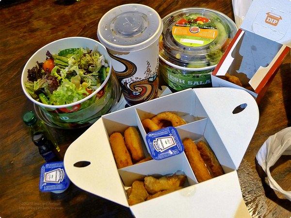 [西班牙食誌]Barcelona:巴塞羅納午餐.Lunch of Burger King