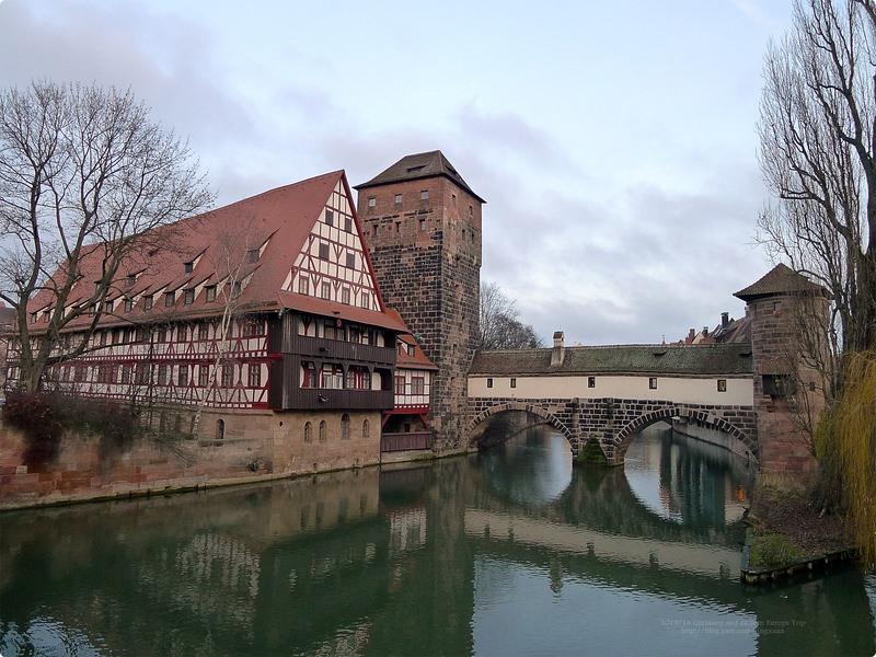 [德國遊誌]Nürnberg:馬克思橋與劊子手橋週邊.Maxbrücke, Henkersteg, Trödelmarkt, etc.