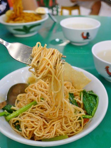 [新馬食記] 笨珍雲吞麵-世紀花園深夜雲吞麵 紅醬茄汁雲吞麵 蜜瓜西米露 Famous Pontian Wanton Noodles