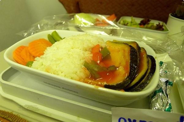 [新馬食誌]Inward Flight:Burger King and Malaysia Airline Vegetarian Meal