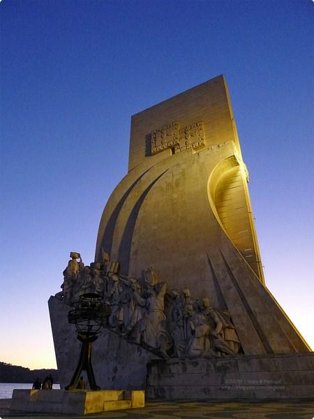 [葡萄牙遊誌]Lisboa:發現者紀念碑等.Padrão dos Descobrimentos, Torre de Belém, etc.
