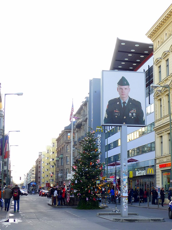 [德國遊誌] Berlin:查理檢查哨等.Checkpoint Charlie, The Berlin Wall, etc