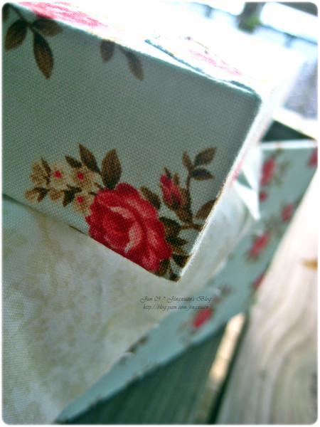 [布盒3]Le Cartonnage.上下蓋長布盒.蝴蝶結連蓋式方形布盒