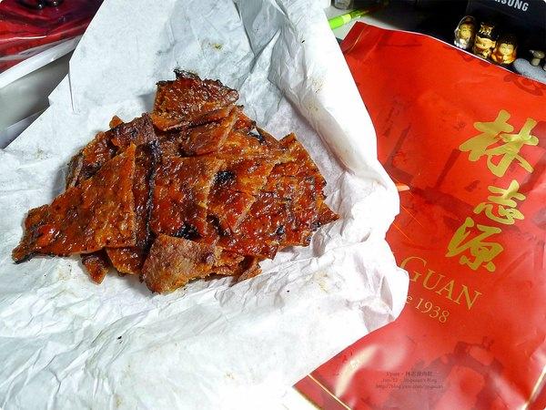 [食誌]伴手禮.林志源肉乾(新加坡)Lim Chee Guan Bak Kwa(Sweet Meat), Singapore