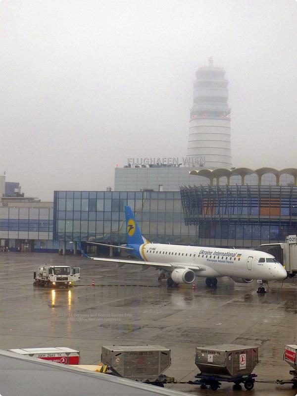 [奧匈捷遊誌]Vienna︰維也納國際機場與維也納火車西站.Vienna Int'l Airport(Flughafen Wien) and Wien Westbahnhof