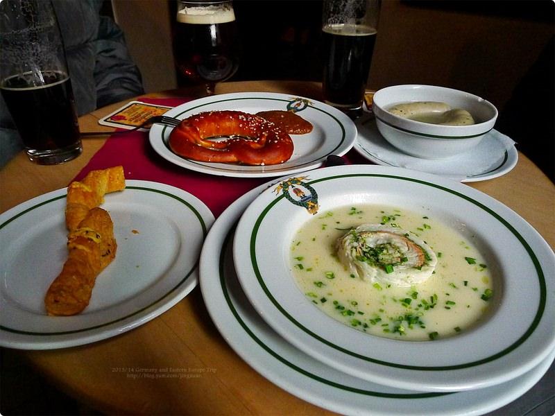 [德國食誌]Bamberg︰班堡午餐(煙燻啤酒).Schlenkerla(Smoked Beer)